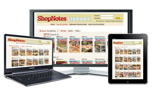 Woodsmith Back Issue Library ONLINE Video